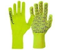 Castelli Corridore Long Finger Gloves (Yellow Fluo)