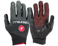 Castelli CW 6.1 Cross Long Finger Gloves (Black)