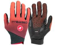 Castelli CW 6.1 Cross Long Finger Gloves (Orange)