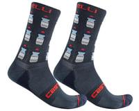 Castelli Pazzo 18 Socks (Savile Blue)