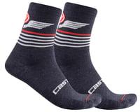 Castelli Men's Lancio 15 Socks (Savile Blue)