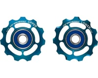 CeramicSpeed SRAM 11-speed Pulley Wheels: Coated, Alloy, Limited Edition Blue