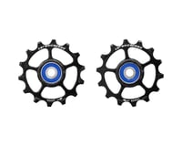CeramicSpeed SRAM Eagle-14 1x12-speed Pulley Wheels: Stainless Steel, Black
