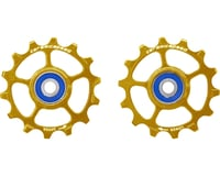 CeramicSpeed SRAM Eagle 14 1-12 Pulley Wheels: Stainless Steel, Gold
