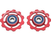 Ceramicspeed SRAM 11-speed Pulley Wheels: Alloy, Red