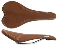 Charge Bikes Spoon Saddle (Brown) (Chromoly Rails)