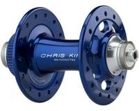 Image 2 for Chris King R45D 9mm QR Front Disc Hub (Navy) (28 Hole) (Centerlock)
