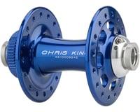 Image 2 for Chris King R45D 12mm Front Disc Hub (Navy) (32 Hole) (Centerlock)