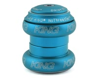 "Chris King NoThreadSet Headset (Matte Turquoise) (1-1/8"")"