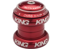"Chris King NoThreadSet Headset (Red Bold) (1-1/8"")"