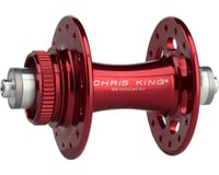 Image 1 for Chris King R45D 9mm QR Front Disc Hub (Red) (28 Hole) (Centerlock)