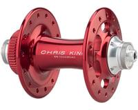 Image 2 for Chris King R45D 9mm QR Front Disc Hub (Red) (28 Hole) (Centerlock)
