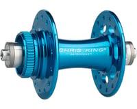 Image 1 for Chris King R45D 9mm QR Front Disc Hub (Turquoise) (28 Hole) (Centerlock)
