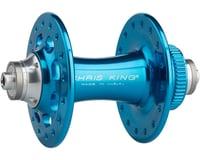 Image 1 for Chris King R45D 9mm QR Front Disc Hub (Turquoise) (32 Hole) (Centerlock)
