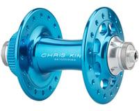 Image 2 for Chris King R45D 9mm QR Front Disc Hub (Turquoise) (32 Hole) (Centerlock)