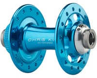 Image 2 for Chris King R45D 12mm Front Disc Hub (Turquoise) (32 Hole) (Centerlock)