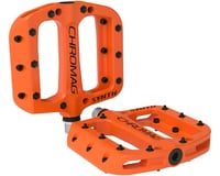 Chromag Synth Composite Platform Pedals (Orange)