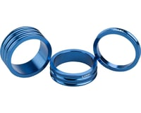 "Ciari Anelli 1-1/8"" Headset Spacers (Blue) (5, 10, & 15mm)"