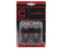 Image 2 for Cinema Bike Lights (Front and Rear) (Black)