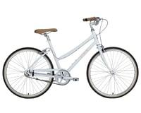Image 1 for Civia Lowry Single-Speed Step-Thru Bike (Coconut White/Orange) (S)