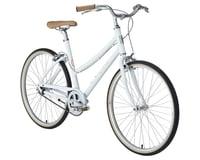 Image 2 for Civia Lowry Single-Speed Step-Thru Bike (Coconut White/Orange) (S)