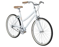 Image 2 for Civia Lowry Single-Speed Step-Thru Bike (Coconut White/Orange) (M)