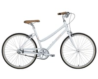 Image 1 for Civia Lowry Single-Speed Step-Thru Bike (Coconut White/Orange) (L)