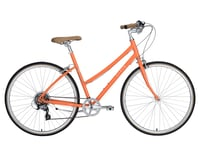 Image 1 for Civia Lowry 7-Speed Step-Thru Bike (Orange/Coconut White) (XS)