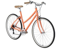 Image 2 for Civia Lowry 7-Speed Step-Thru Bike (Orange/Coconut White) (S)