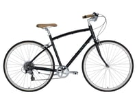 Civia Lowry 7-Speed Step-Over Bike (Black Jelly Bean/Mint Green)