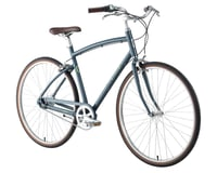 Image 2 for Civia Lowry 8-Speed Step-Over Aluminum Bike (Grey/Lime Green) (S)