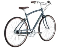 Image 3 for Civia Lowry 8-Speed Step-Over Aluminum Bike (Grey/Lime Green) (S)