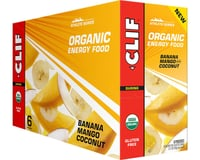 Image 2 for Clif Organic Energy Food: Sweet Banana Mango Coconut, Box of 6