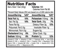 Image 3 for Clif Bar Luna Bar (Creamy Dreamy Peanut Butter) (15) (15 1.69oz Packets)