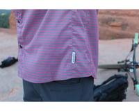 Image 6 for Club Ride Apparel Men's Vibe Short Sleeve Shirt (Merlot Stripe) (XL)