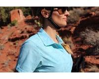 Image 3 for Club Ride Apparel Women's Camas Short Sleeve Jersey (Angel Blue Print) (L)
