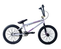 "Image 1 for Colony Inception 18"" Bike (18"" TT) (Silver/Rainbow)"