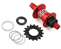 Crupi Quad Rear Hub (Red) (36H) (10mm)