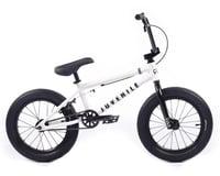 """Cult 2021 Juvenile 16"""" BMX Bike (16.5"""" Toptube) (White)"""