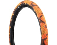 Cult Vans Tire (Orange Camo/Black)