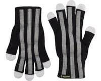 Cycleaware Reflect+ Hi-Vis Reflective Glove (Black/Stripes)