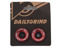 Image 2 for Daily Grind Bar Ends (Red) (Pair)