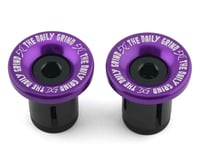 Daily Grind Bar Ends (Purple) (Pair)