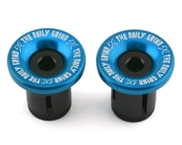 Daily Grind Bar Ends (Blue) (Pair)
