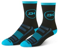 Dakine Singletrack Cycling Socks (Cyan/Black)