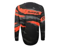 Image 2 for Dakine Descent Long Sleeve Jersey - 2016 (Black/Orange)