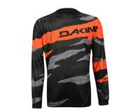 Image 3 for Dakine Descent Long Sleeve Jersey - 2016 (Black/Orange)