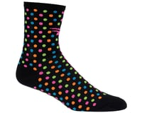 """Image 3 for DeFeet Aireator 4"""" Spotty Sock (Black) (L)"""