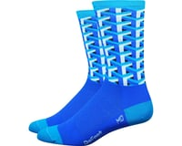 "DeFeet Aireator 6"" Framework Sock (Blue)"