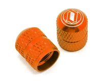 Deity Crown Schrader Valve Caps- Orange | relatedproducts